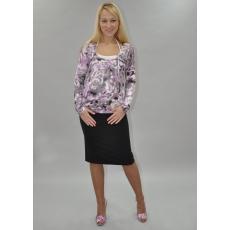 Блуза для кормления трикотаж