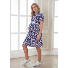 Платье с  кокеткой для беременных