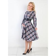 Платье для беременных и кормления костюмная ткань