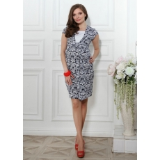 Платье для беременных и кормящих Софи трикотаж