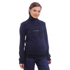 Пуловер Беата с молнией