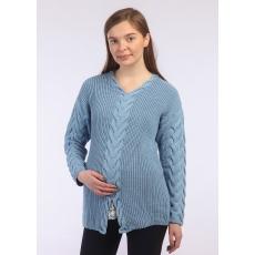 Джемпер для беременных Виола вязаный трикотаж