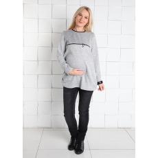 Пуловер Паулина с молнией