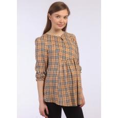 Блуза рукава 3/4  для беременных штапель