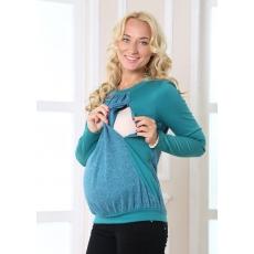 Джемпер для беременных и кормления