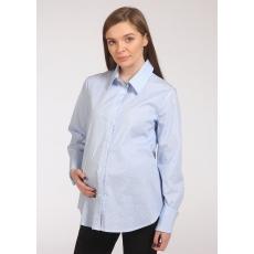 Блуза_рубашка для беременных рубашечный хлопок