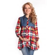 Блуза рукава 7/8 для беременных штапель