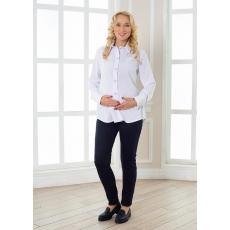 Блуза для беременных рубашечный хлопок