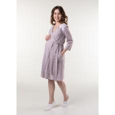 Халат на запах для беременных и кормления