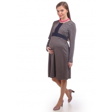 Платье расклешенное для беременных