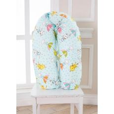 Подушка Зайчики для беременных 190см